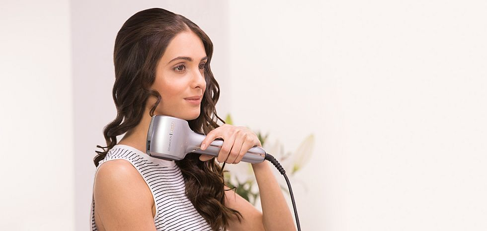 How to use remington curler