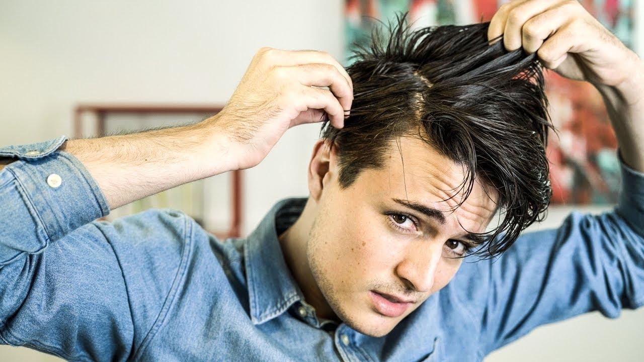 Men's Hair Tips | How to Get Rid of Dandruff - YouTube