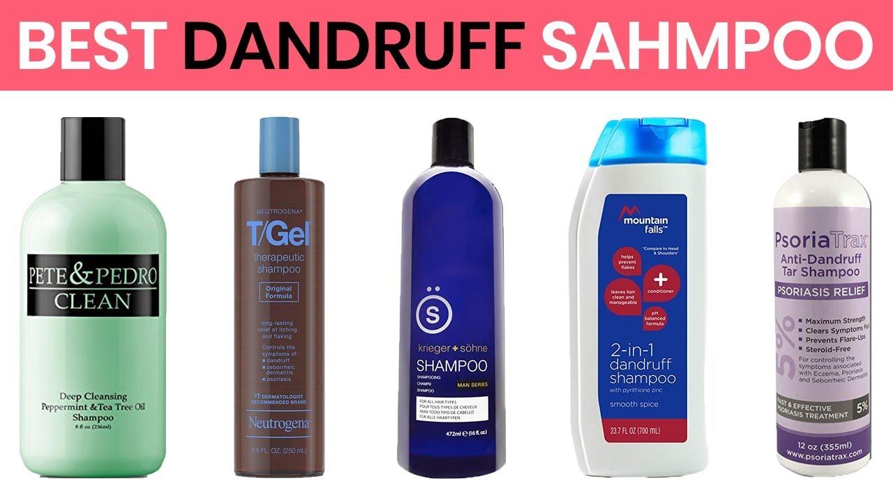 10 Best Anti-Dandruff Shampoos 2019 - YouTube
