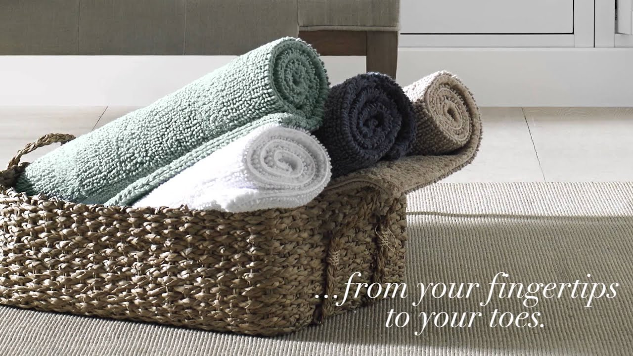 The Wamsutta Bath Collection at Bed Bath & Beyond - YouTube