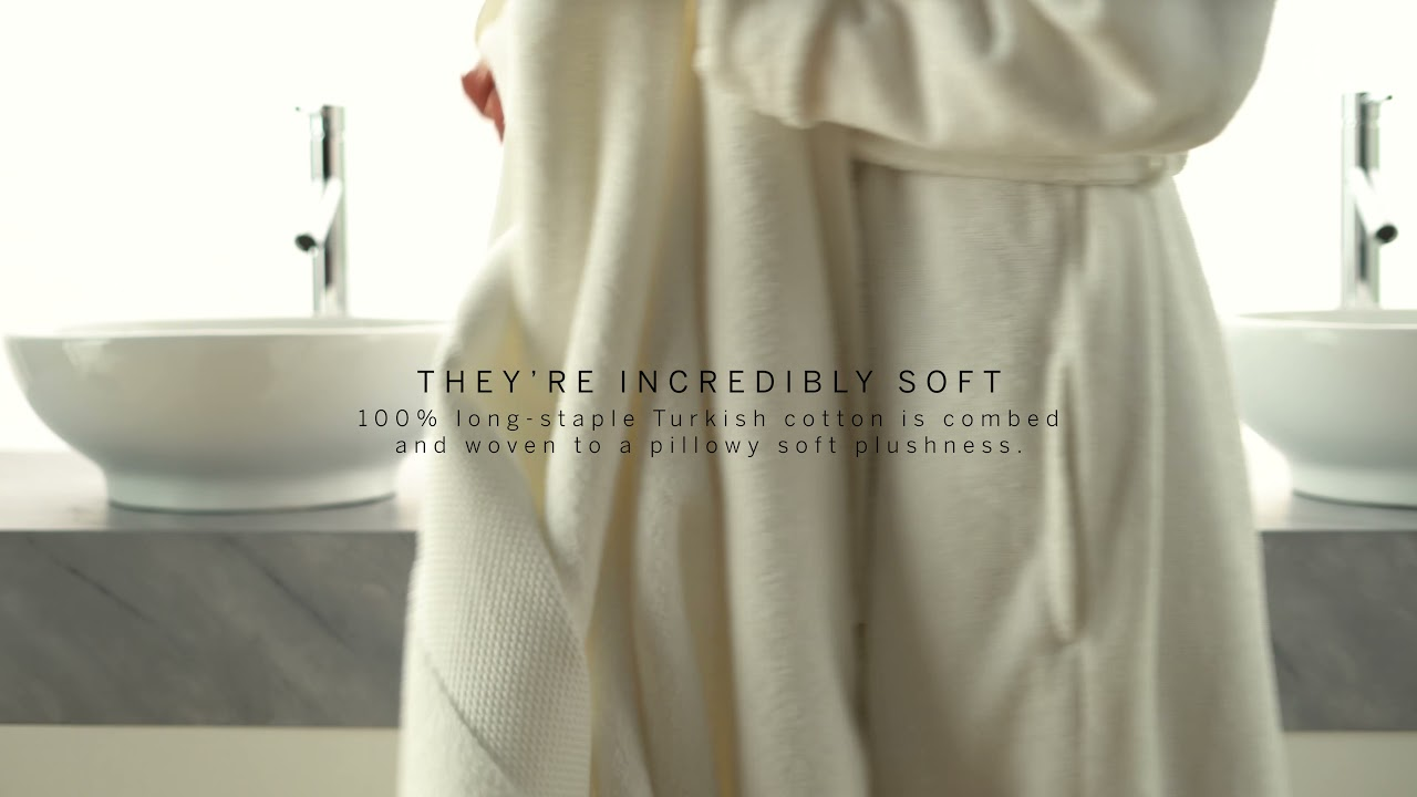 Frontgate Presents: The Resort Cotton Towel - YouTube