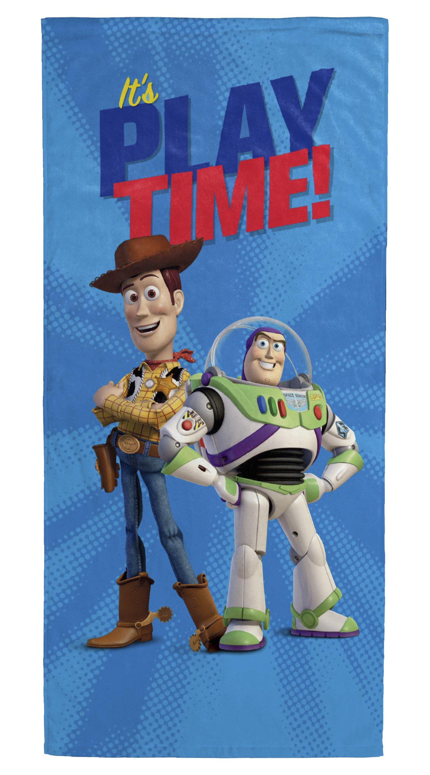 Disney Toy Story It's Playtime 100% Cotton Beach Towel & Reviews   Wayfair