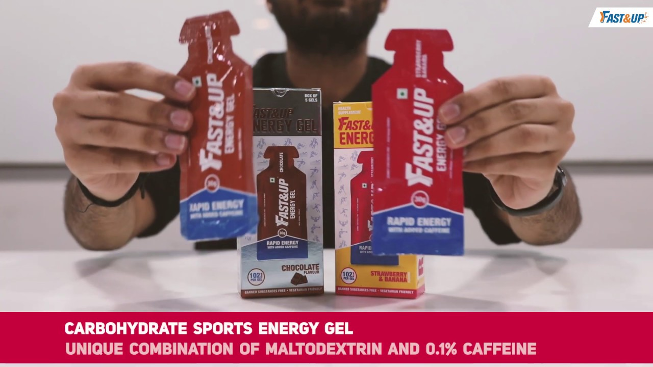 Fast&Up Energy Gel for Instant Energy Boost - YouTube