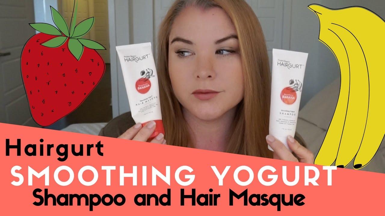 Hairgurt Smoothing Yogurt Shampoo and Hair Masque - YouTube